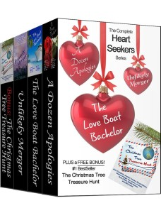 The Heart Seekers Series contains 3 books +character updates + #1 bestseller, The Christmas Tree Treasure.