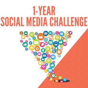 1-Year Social Media Challenge