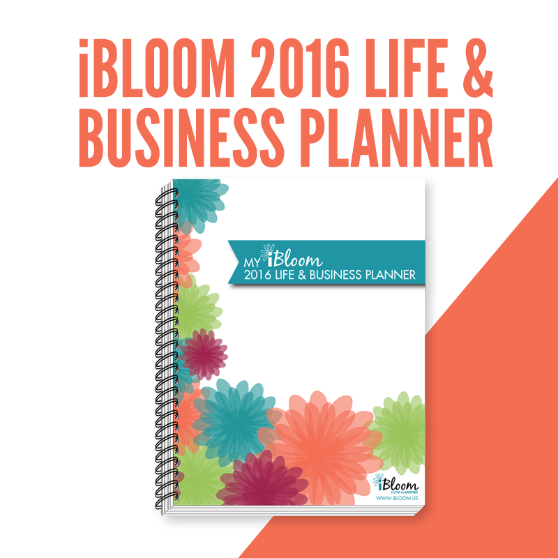 iBloom 2016 Life & Business Planner